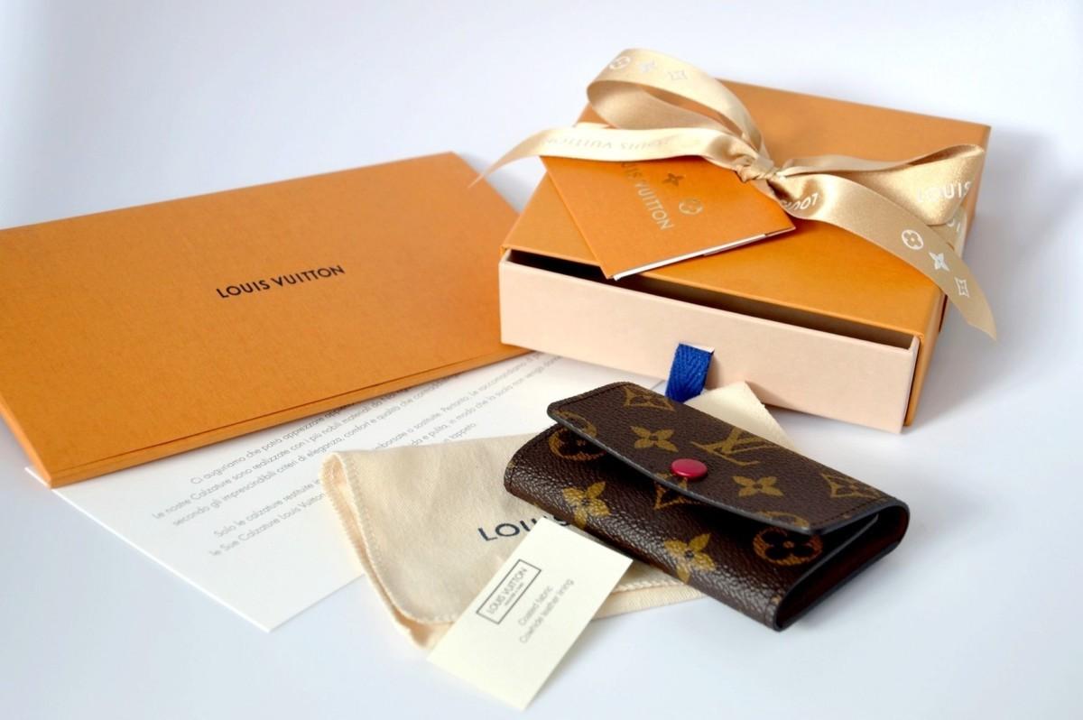 d5b16cd93e Portachiavi multicles 6 Vuitton. Vuitton monogram. Portachiavi di lusso.