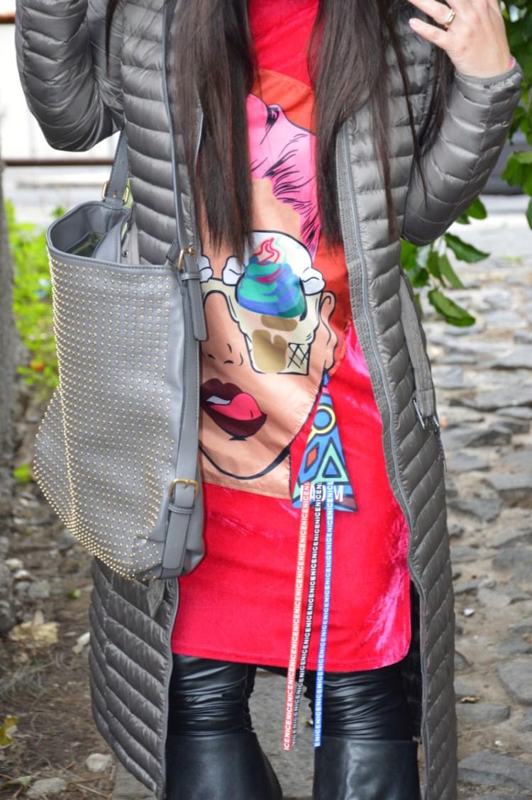 DSC_3439 Tunica in velluto fucsia Shein. Cosa indossare quando manca il sole?