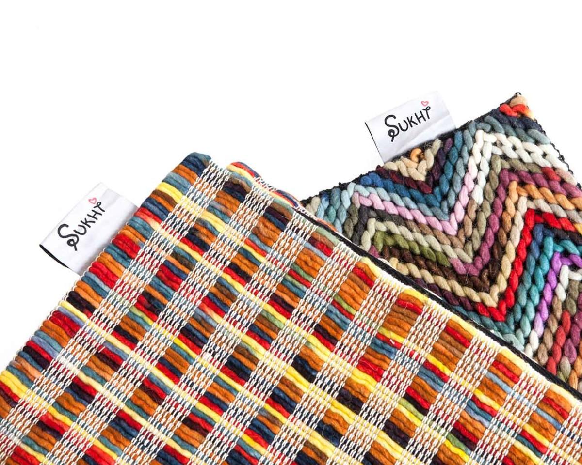 Tappeti Sukhi colorati