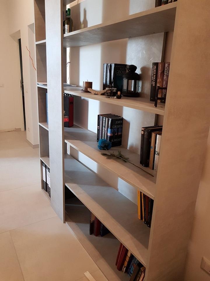 libreria Come arredare in modo coordinato? Zona living con Mobili Fiver