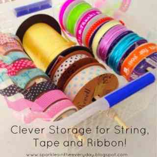 Ribbons, String and Tape Storage!