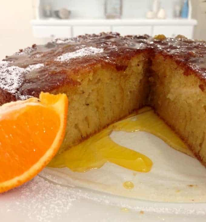 Tangelo and Almond Syrup Cake... Gluten Free!!!!!