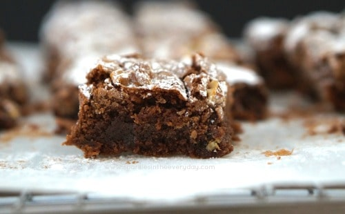 A delicious gluten free chocolate brownie recipe!