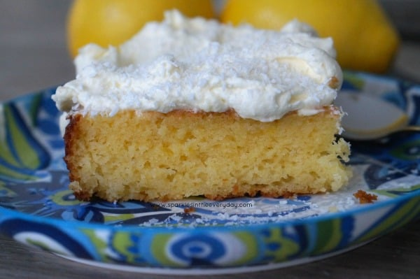 Recipe for the Best Gluten Free Coconut and Lemon Cake!