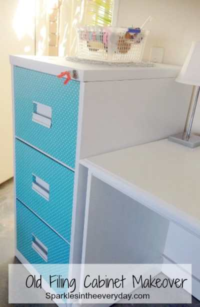 Old Filing Cabinet Makeover