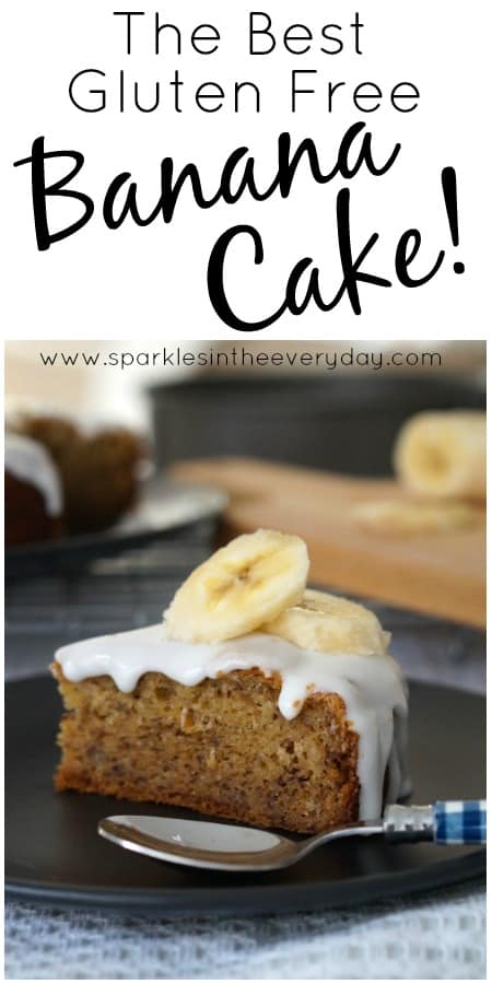 Simply The Best Gluten Free Banana Cake recipe!