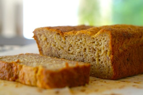 Gluten Free Banana Bread ...easy and delicious!