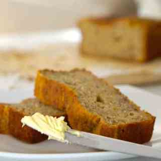 Gluten Free Banana Bread..really easy!