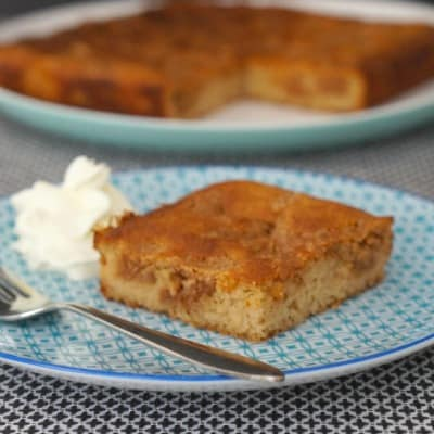 Easy Gluten Free Cinnamon Tea Cake...delicious