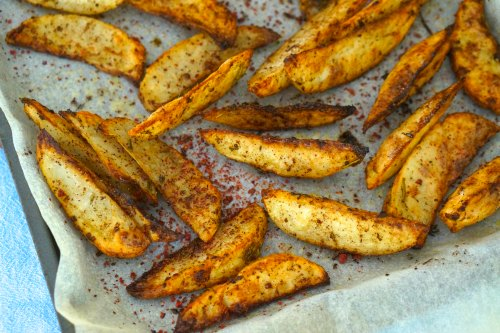 Gluten Free Sumac Spiced Wedges