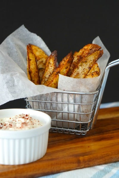 Sumac Spiced Wedges - ready to eat
