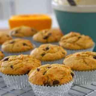 Australian Pumpkin and Chocolate Chip Muffins (GF)