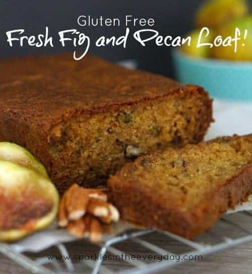 Fresh Fig and Pecan Loaf! (Gluten Free)
