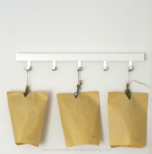 How to dry herbs at home the easy way!