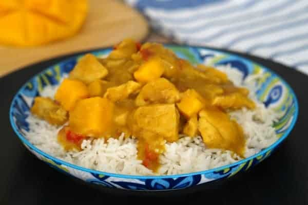 Easy Mango Chicken Curry (GF)