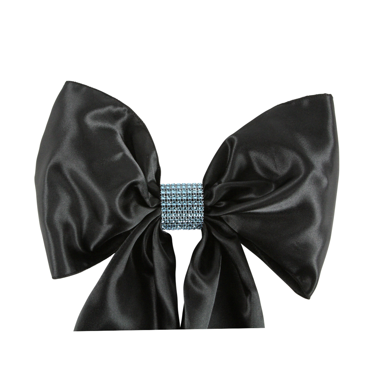 chair covers and bows ebay mexican chairs for restaurant diamond crystal rhinestone bow 19 colors