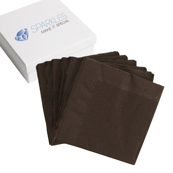 2-ply Paper Napkins - 29 Colors Cocktail Drink Party