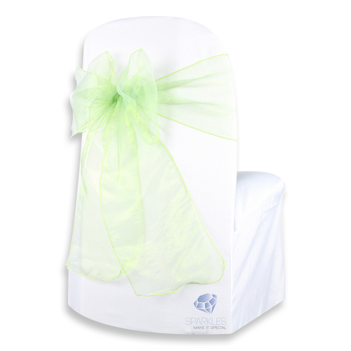 chair covers sage green toddler upholstered ireland 150 pcs organza cover bow sash 108 quotx8 quot