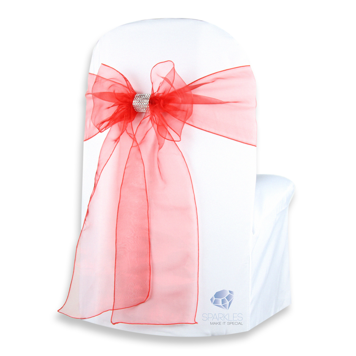 chair covers with pink bows folding back 150 pcs organza cover bow sash 108 quotx8 quot red w