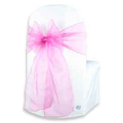 Organza Wedding Chair Sashes Book Shelf 50 Pcs Cover Bow Sash 108 Quotx8 Quot Party