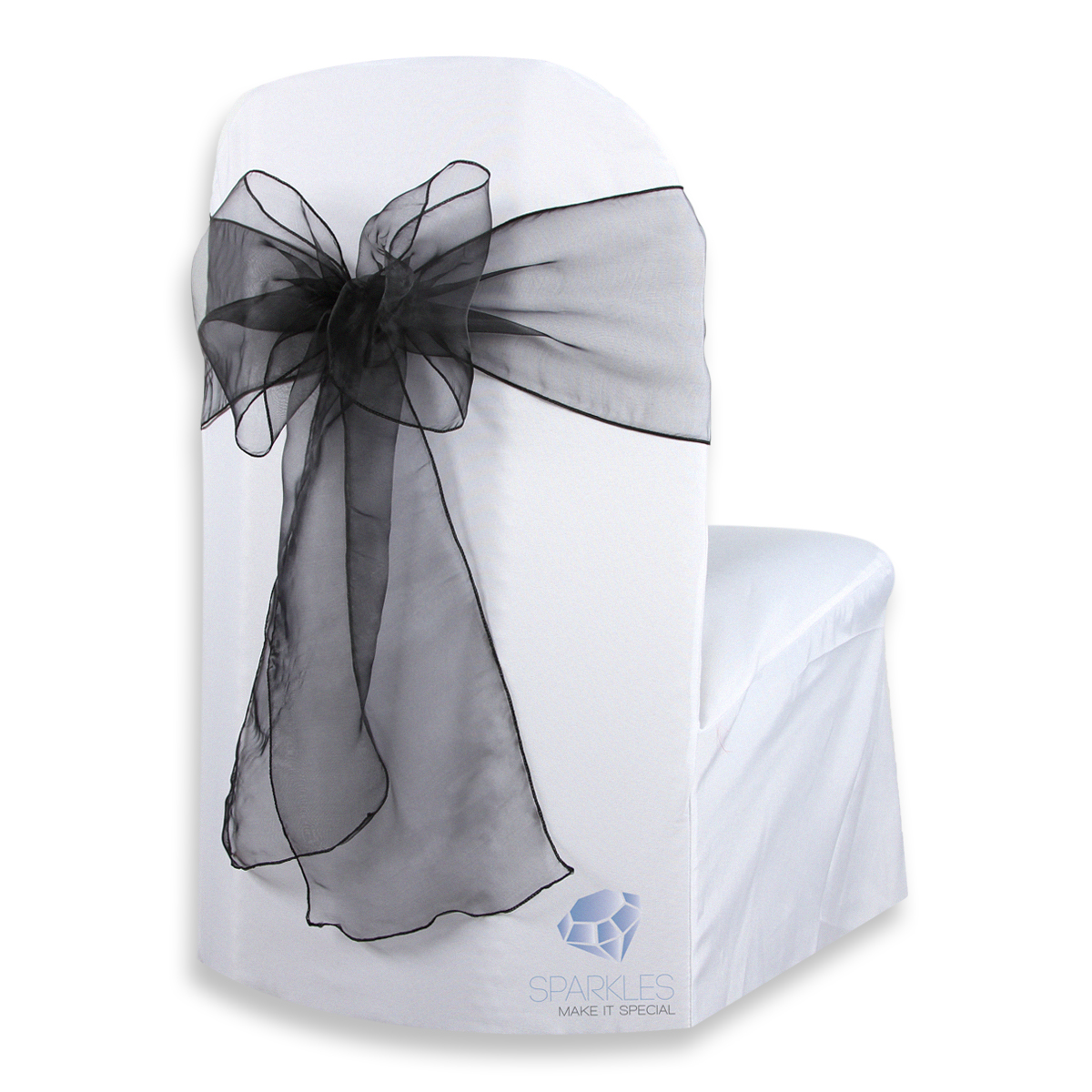 chair covers and bows bridgend kreg jig adirondack plans 100 pcs organza cover bow sash 108 quotx8 quot wedding party