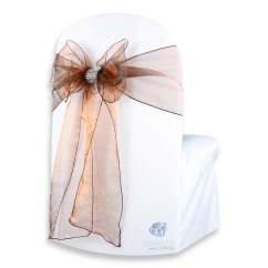 Diy Organza Chair Covers Portable Styling 50 Pcs Cover Bow Sash 108 Quotx8 Quot Wedding Party