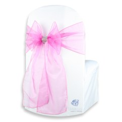 Chair Covers And Bows Ebay Swing B&m 50 Pcs Organza Cover Bow Sash 108 Quotx8 Quot Wedding Party