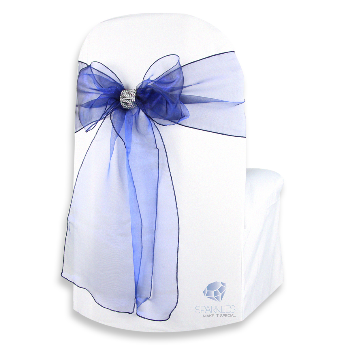 chair covers and bows ebay blue ticking 50 pcs organza cover bow sash 108 quotx8 quot wedding party