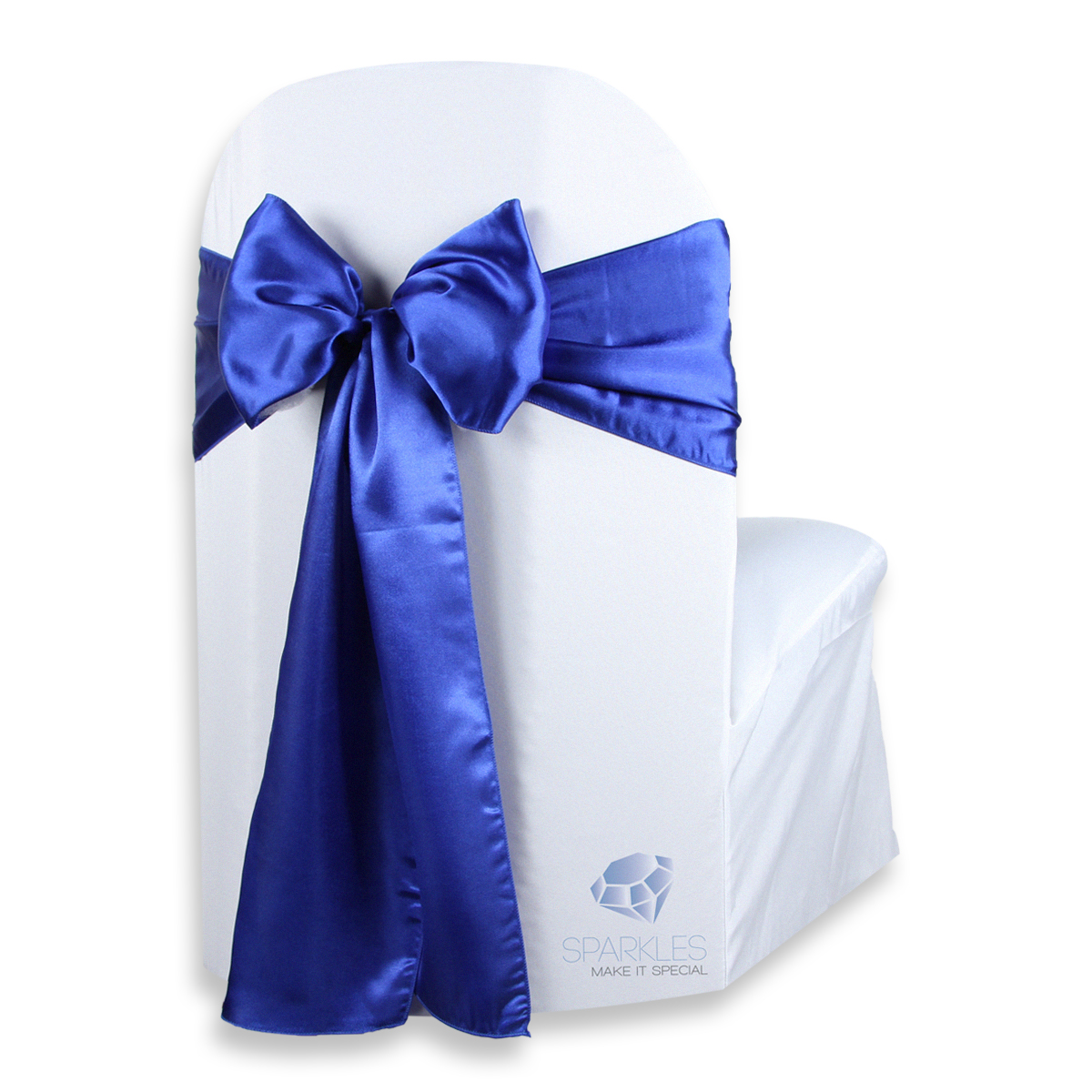 chair covers with bows attached wedding hull 10 pcs satin cover bow sash 108 quotx8 quot royal blue