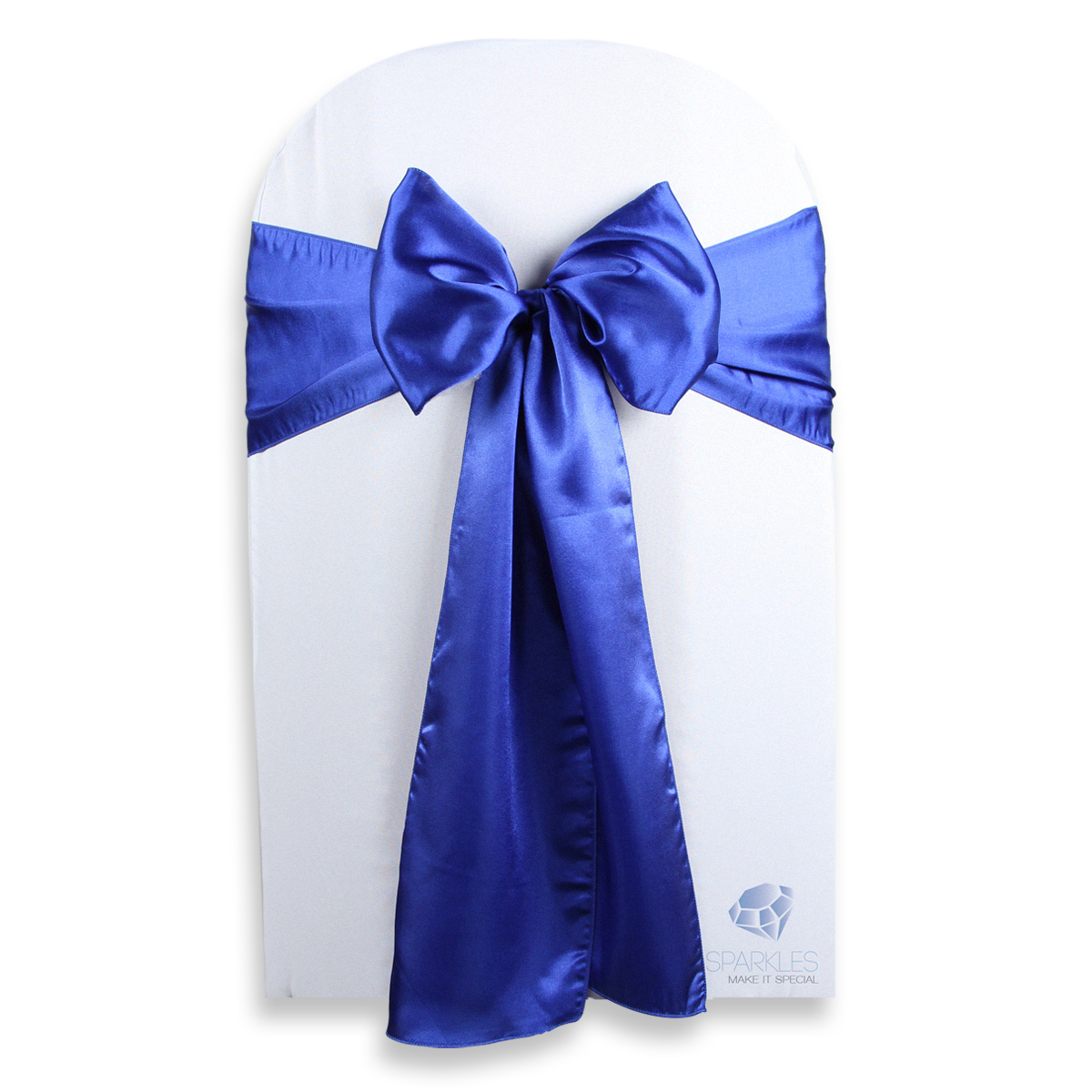 royal blue chair sashes lightweight transport chairs 10 pcs satin cover bow sash 108 quotx8 quot