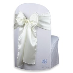 Chair Covers And Bows Ebay Rooms To Go Reclining Chairs 50 Pcs Satin Cover Bow Sash 108 Quotx8 Quot Wedding Party