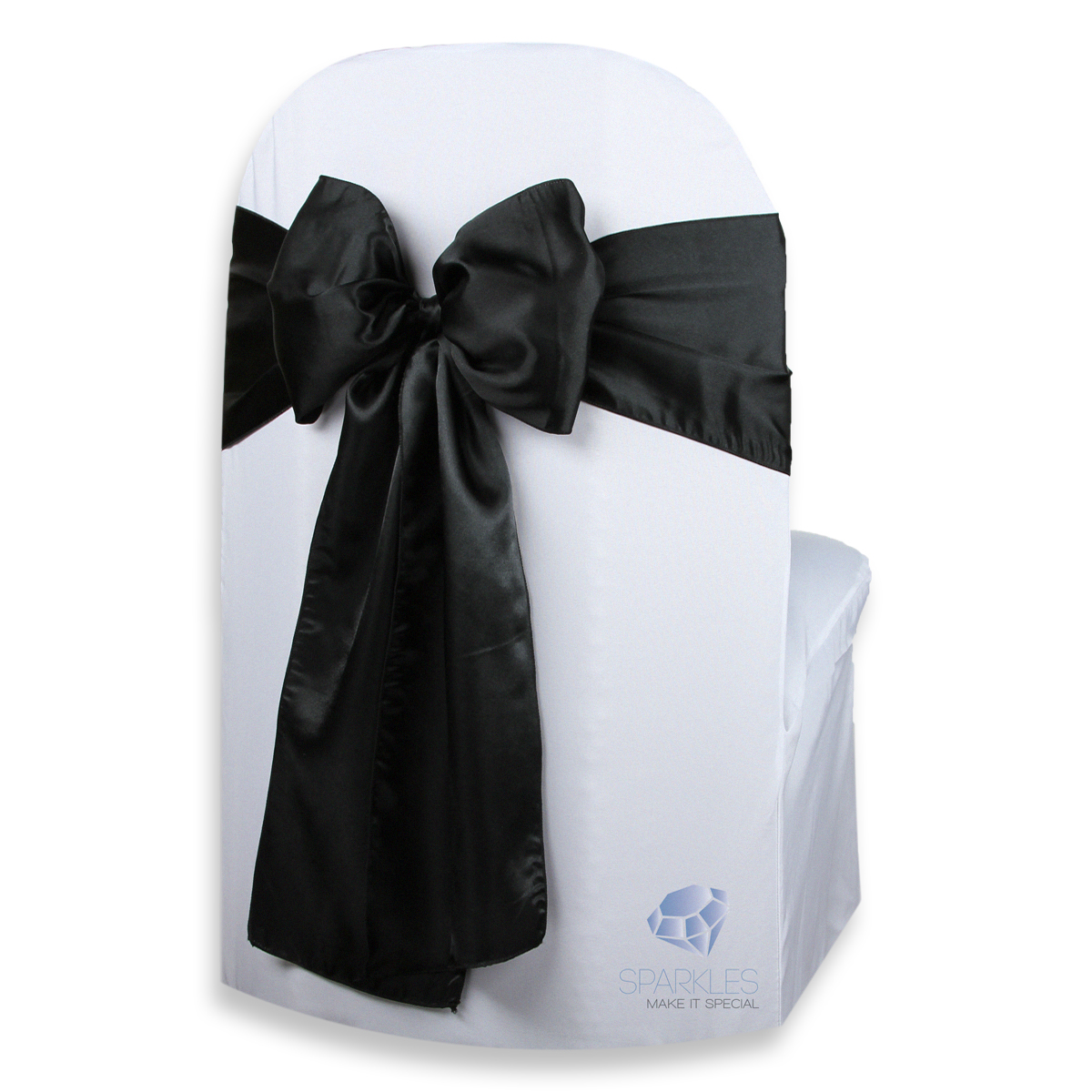 banquet chair covers with sashes baby trend high 100 pcs satin cover bow sash 108 quotx8 quot wedding party