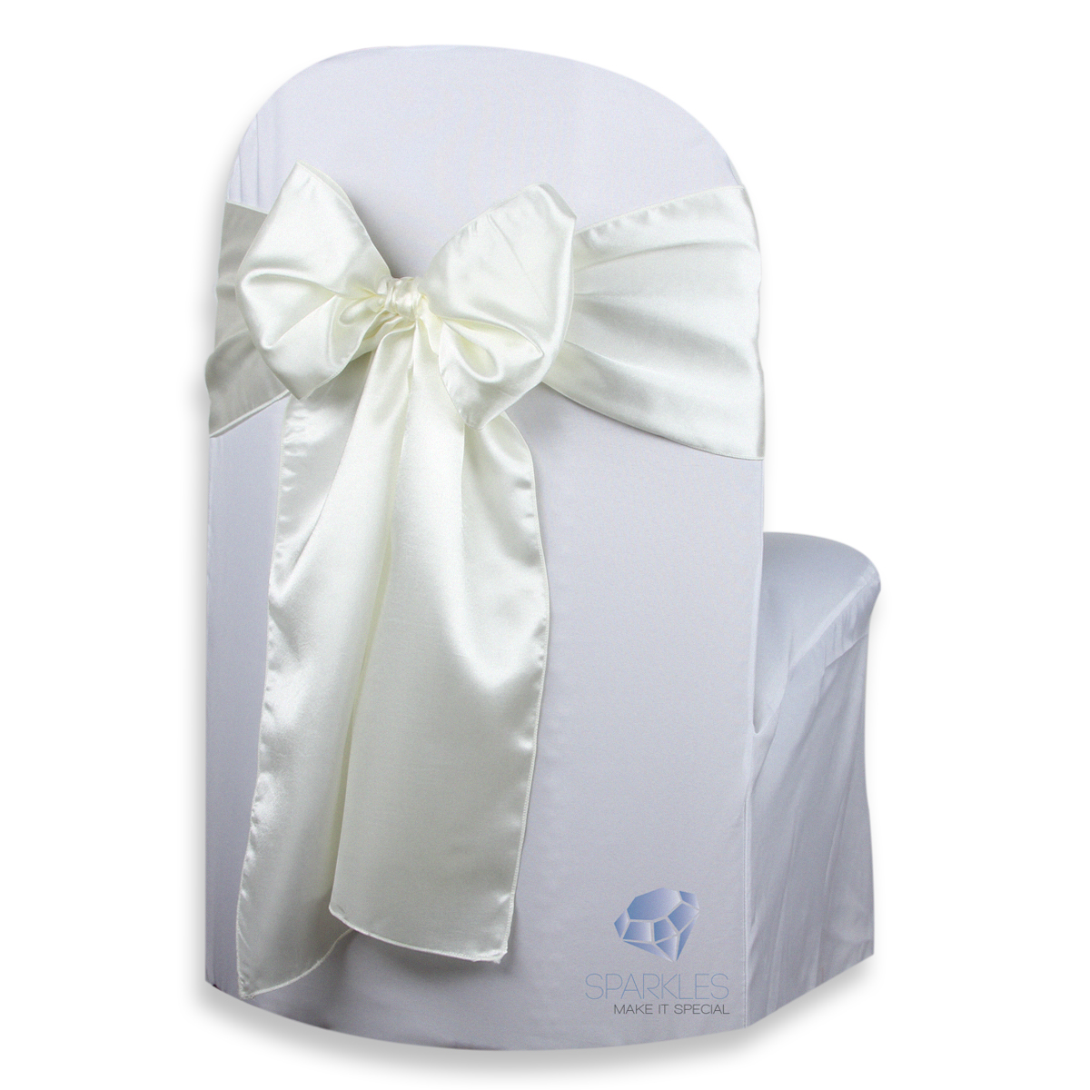 banquet chair covers with sashes adirondack chairs rochester ny 100 pcs satin cover bow sash 108 quotx8 quot wedding party