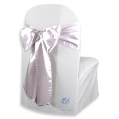 Banquet Chair Covers With Sashes Painting Fabric Chairs 100 Pcs Satin Cover Bow Sash 108 Quotx8 Quot Wedding Party