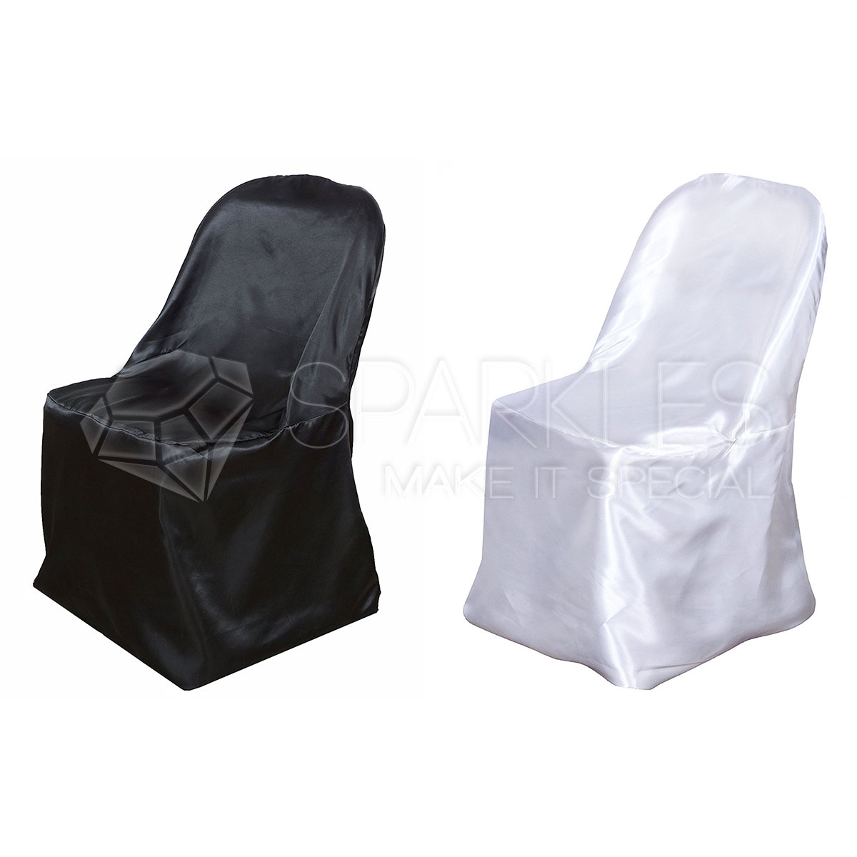 universal banquet chair covers serta office warranty claim satin black or white folding wedding