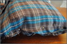 Make Flannel Shirt Pillow In 5 Easy Steps