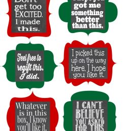 free christmas gift tag clipart [ 927 x 1200 Pixel ]