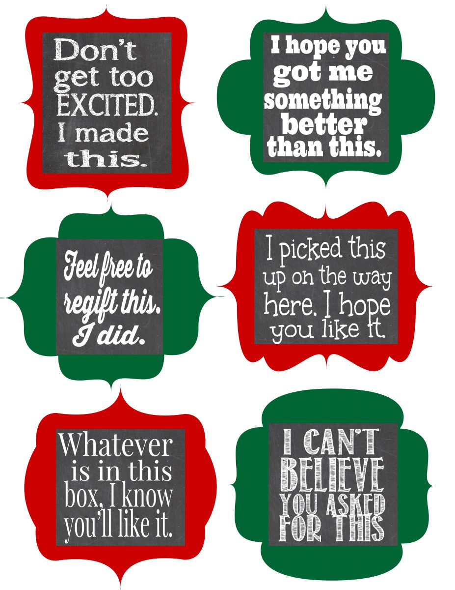hight resolution of free christmas gift tag clipart
