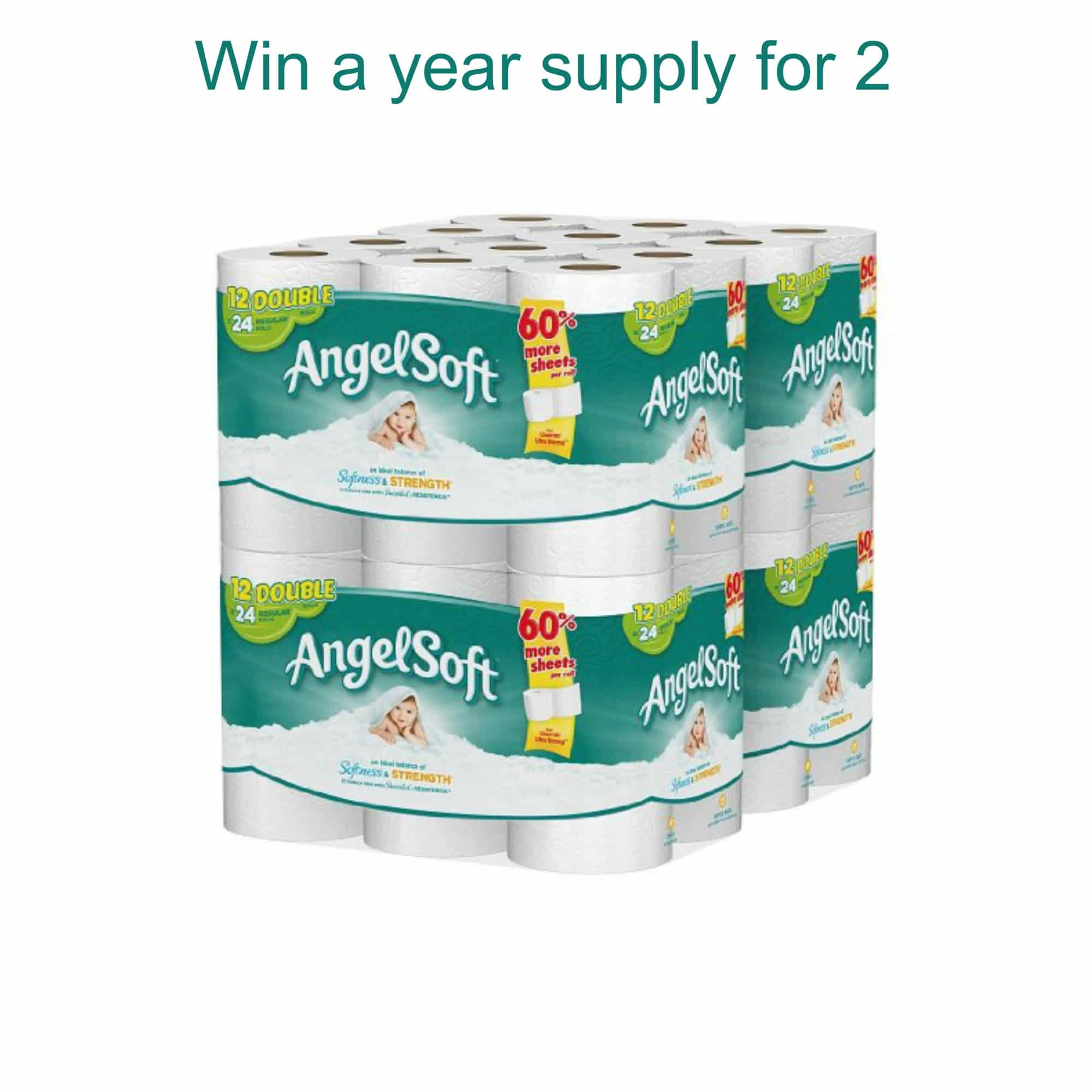 Win A One Year Supply Of Toilet Paper For 2 Sparkles To