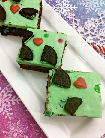 Grinch Brownies