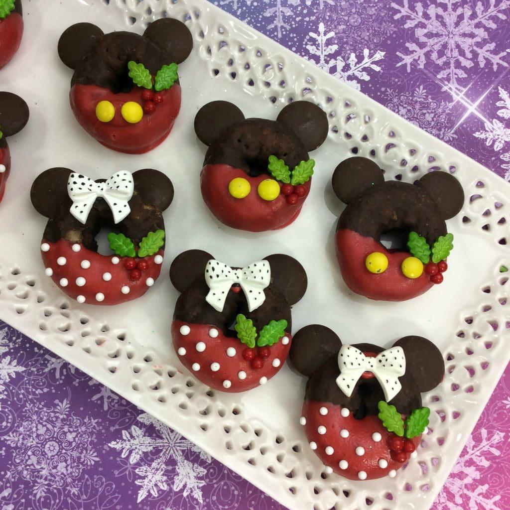 Mickey And Minnie Doughnuts