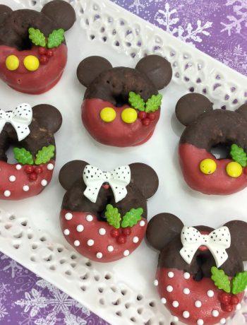 Mickey And Minnie Doughnuts 9-7