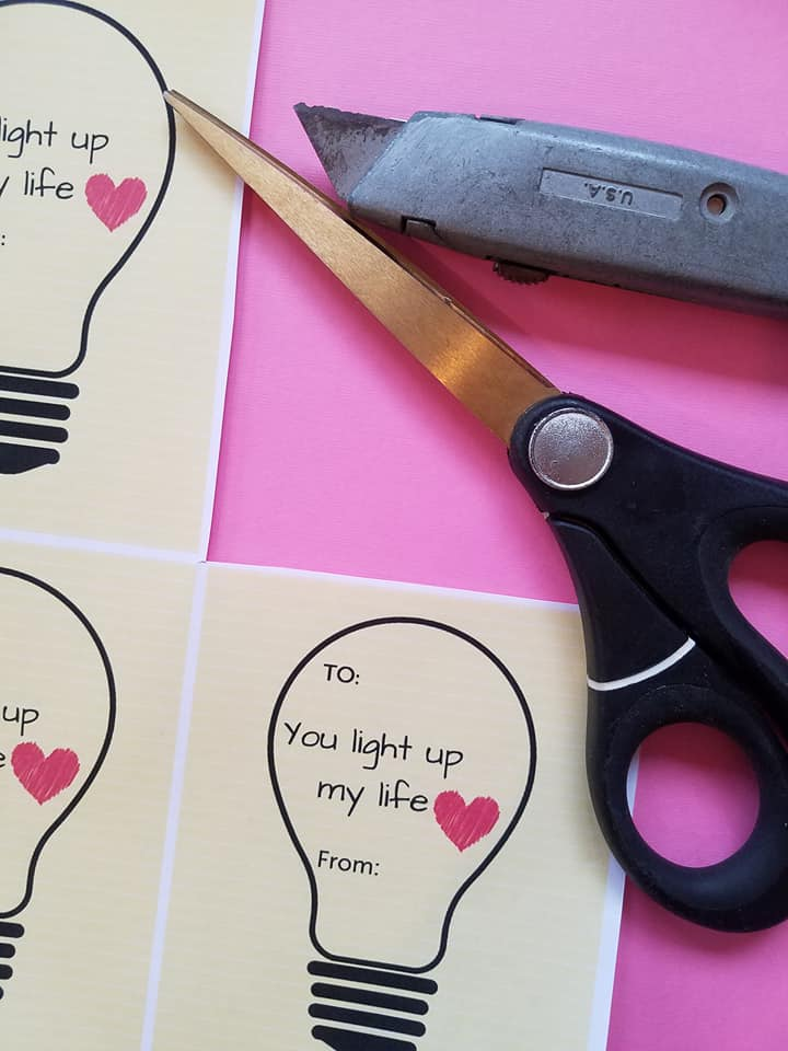 You Light Up My Life, Valentine's Day Printable