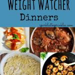 30 Days of Weight Watcher Dinners