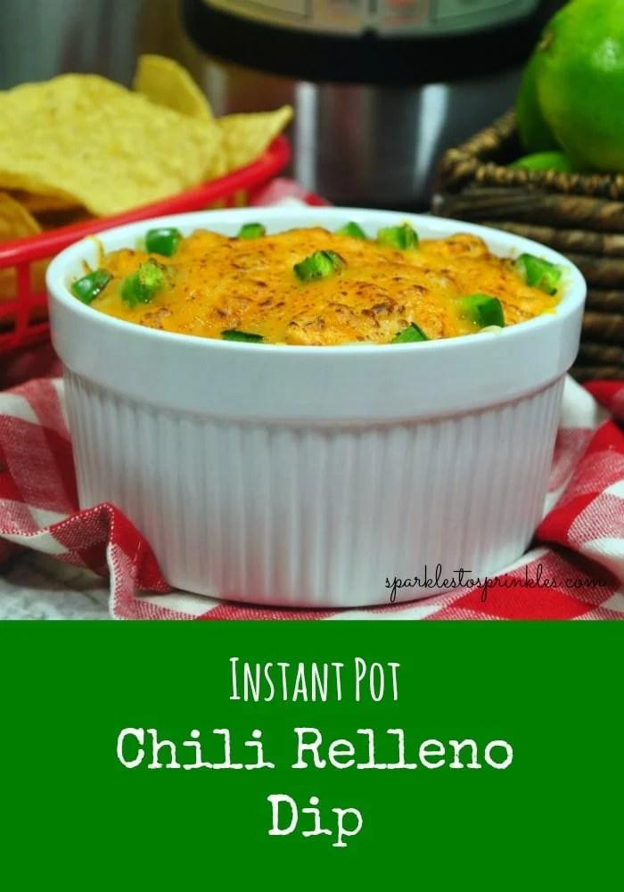 Instant Pot Chili Relleno Dip