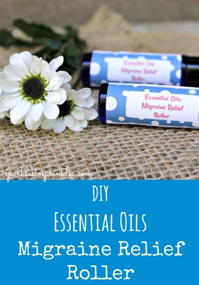 DIY Essential Oils Migraine Relief Roller