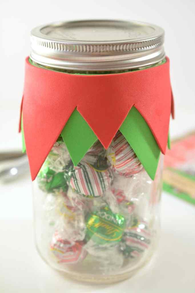 Elf Candy Jar Gift