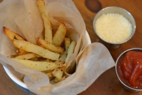 Ninja Foodi Garlic Fries