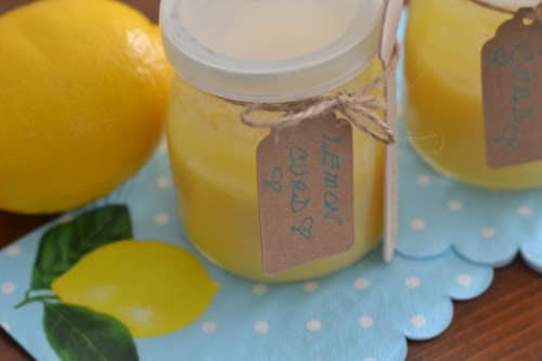 Instant Pot Lemon Curd