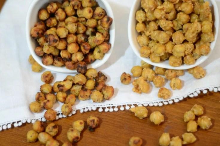 Crispy Air Fryer & Ninja Foodi Chickpeas